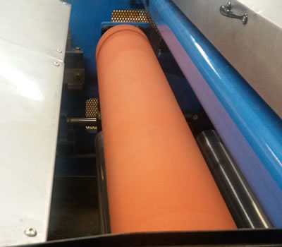 Urethane, Rubber and Silicone Covered Rolls : Stewarts of America